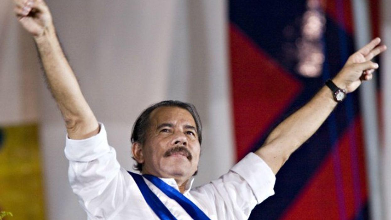 Daniel Ortega in January 2007