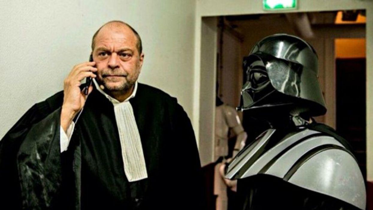 Darth Vader and his Parisian lawyer