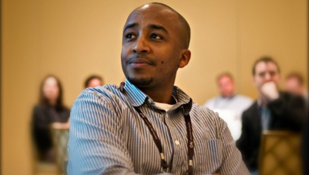 David Kobia, part of Africa's young start-up generation