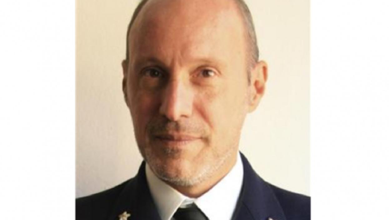 De Falco is a Coast Guard Captain stationed in Livorno, Italy