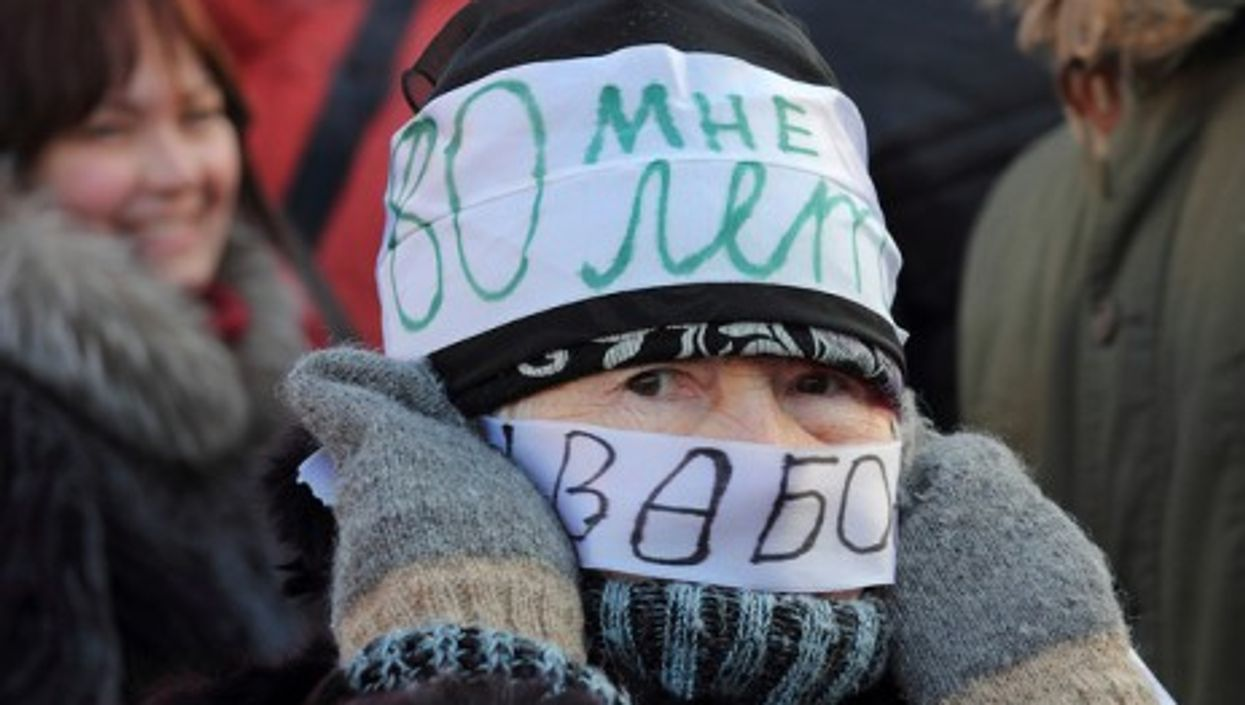 Dec. 15 protest in Moscow
