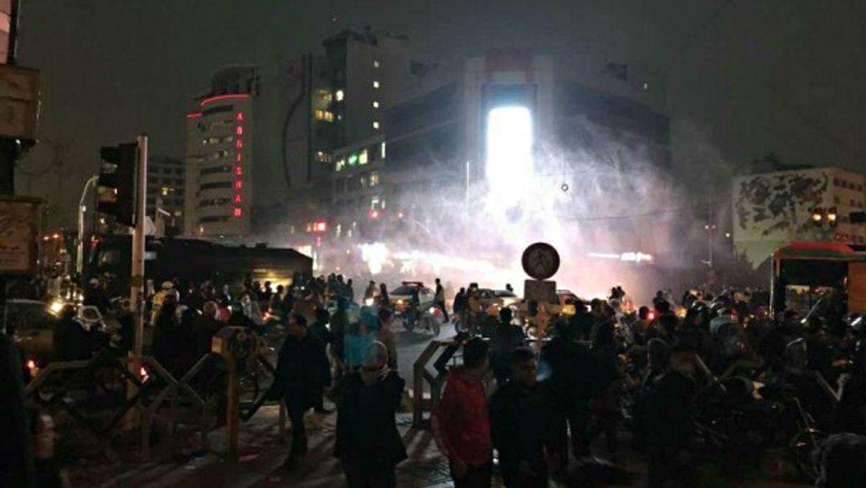 Dec. 31 protests in Tehran