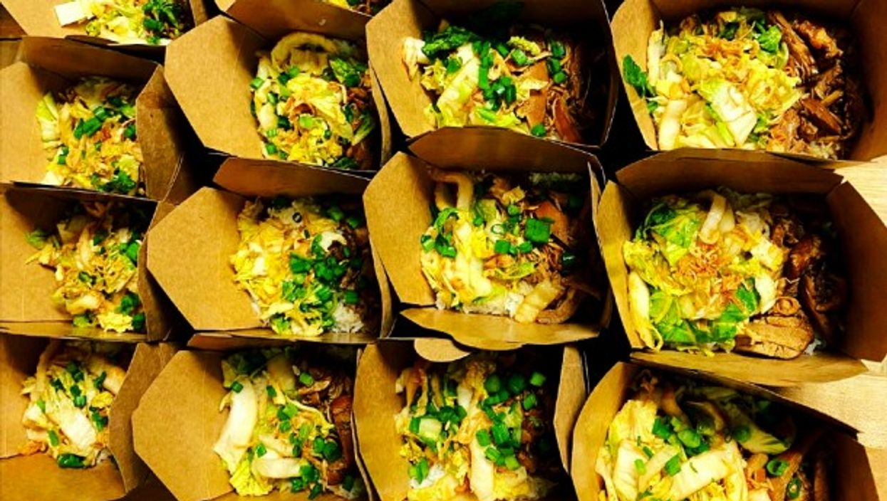 Delivering 'Hong Kong Barbecue Chicken & Rice'