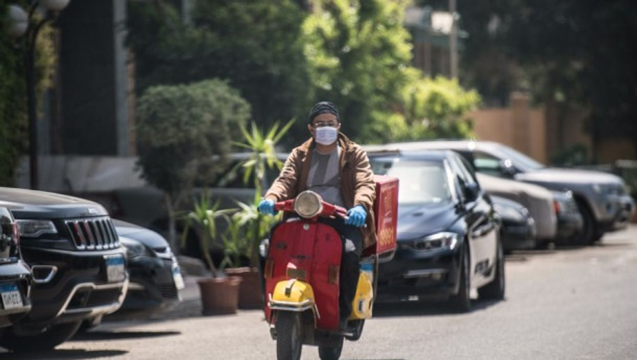 Delivery man in Cairo