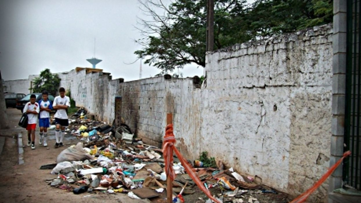 Desecration in a holy place for so many families in Sao Paulo