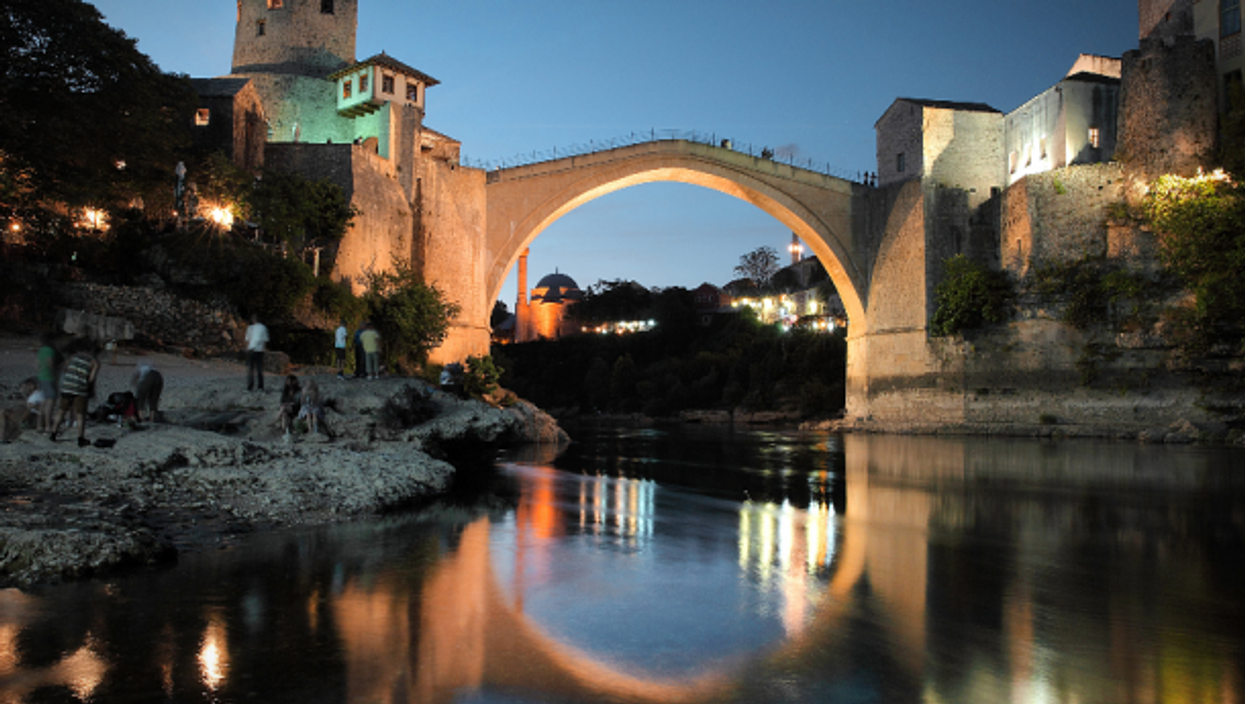 Destroyed in 1993, Mostar's bridge was rebuilt in the early 2000s