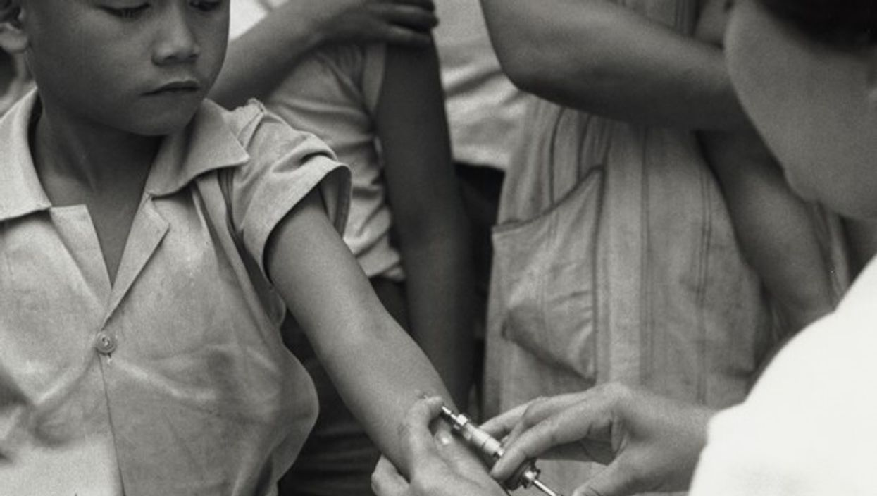 Detail of photograph from UNICEF archives