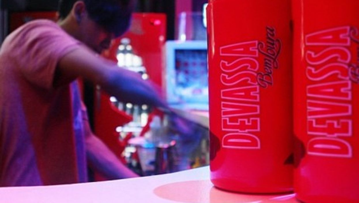 Devassa, a popular brand of Brazilian beer that could soon be owned by Japan's Kirin