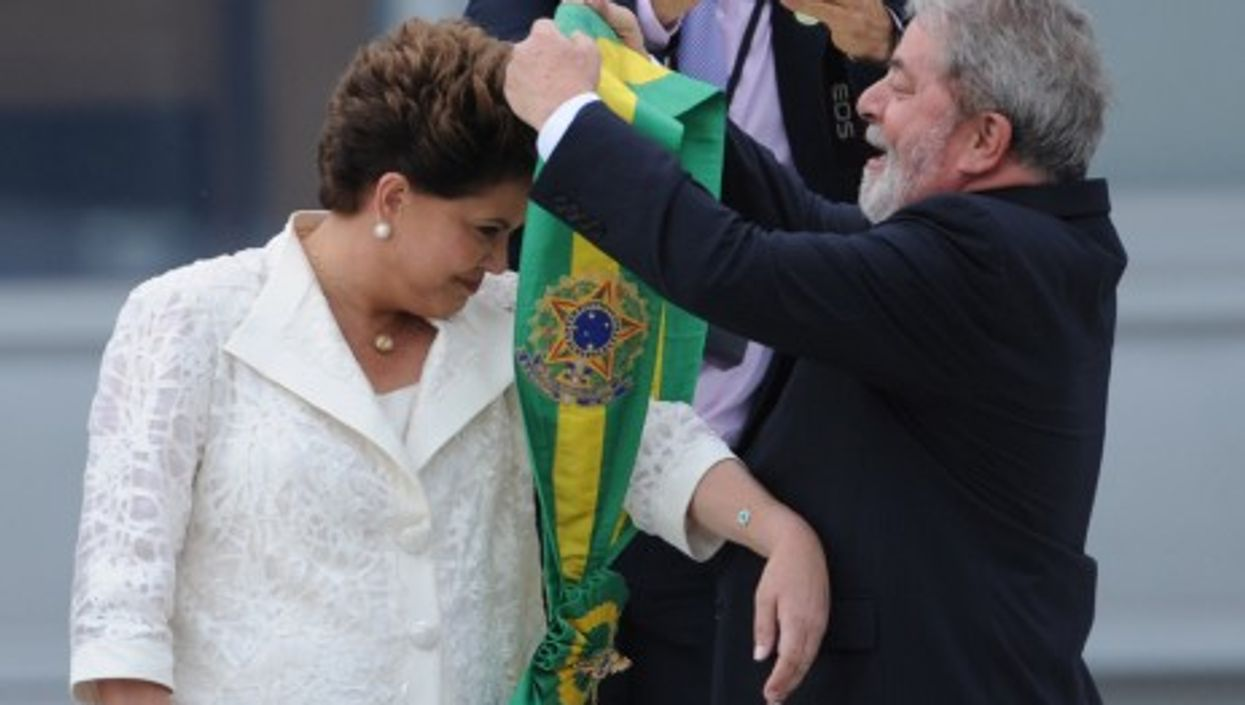 Dilma Rousseff, from prisoner to president (Wikipedia)