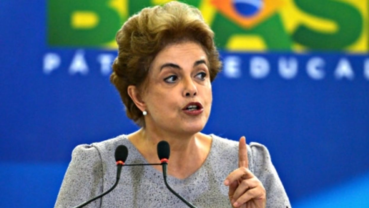 Dilma Rousseff last month at the Palacio do Planalto presidential palace.