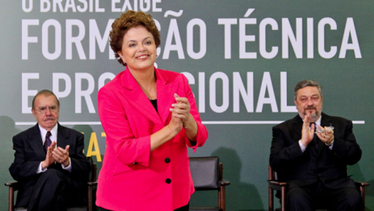 Dilma Rousseff wants a competitive and innovative Brazil