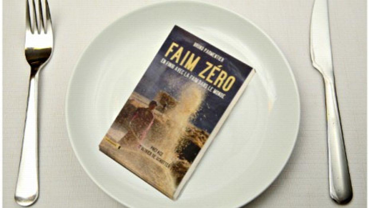 """Dinner's served: Bruno Parmentier's """"Zero Hunger, Ending Hunger In The World"""""""