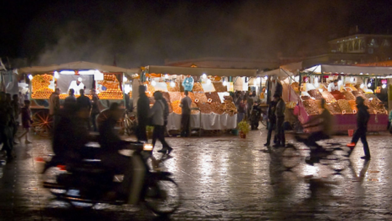 Djemaa el-Fna square is perhaps Morocco's most recognizable tourist destination (MCaporilli)