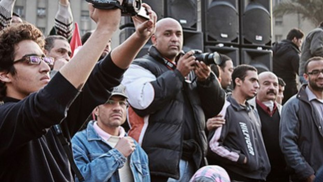 Documenting the revolution in Cairo