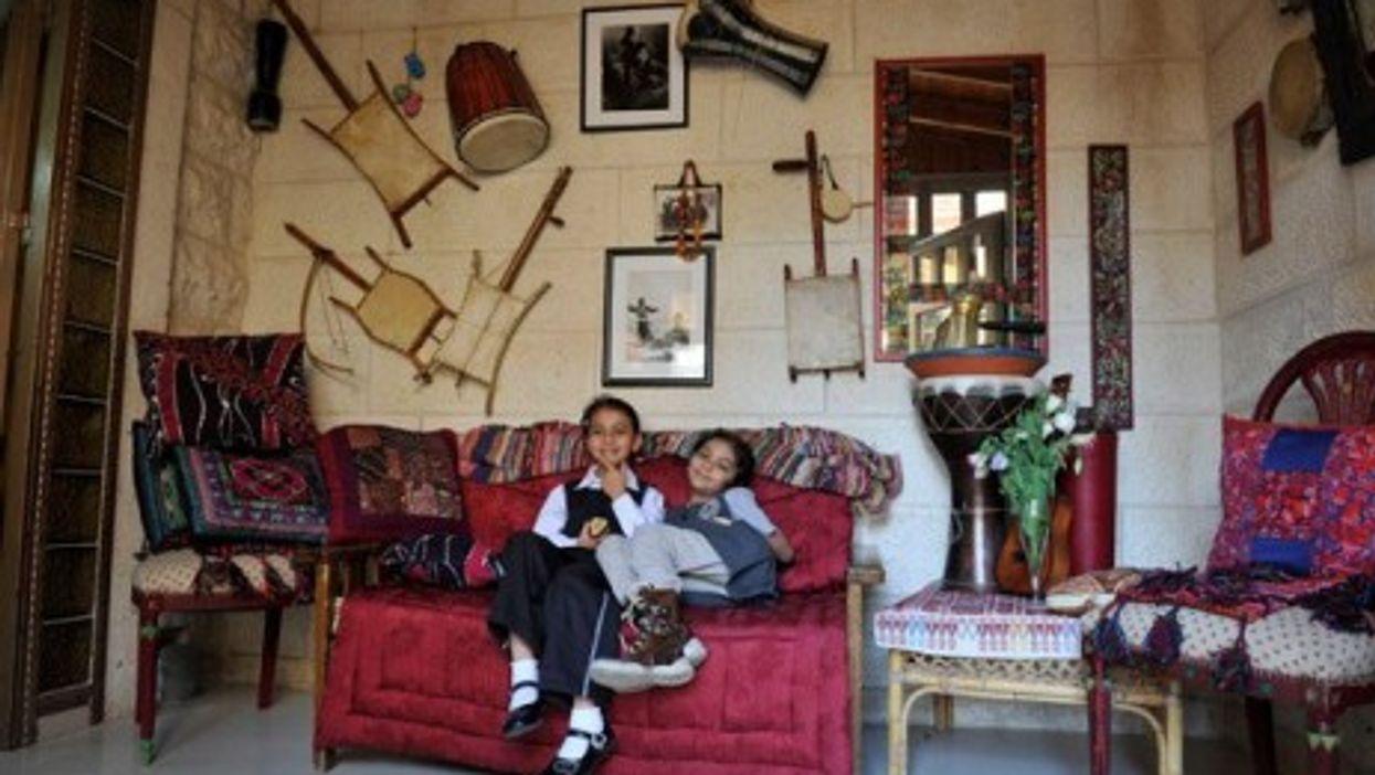 Dom children in Jerusalem