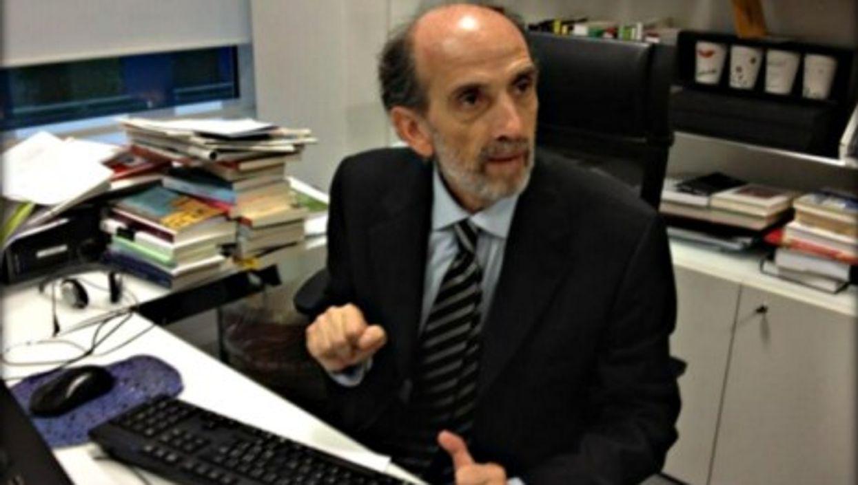 Domenico Quirico back at La Stampa's newsroom in Turin