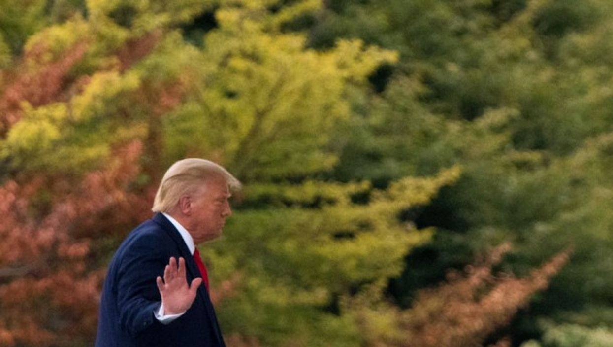 Donald Trump returning to the White House on Sept. 1st