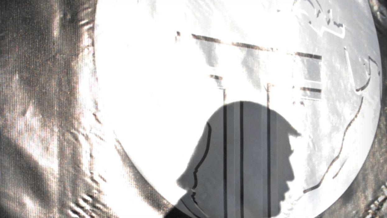 Donald's Trump shadow