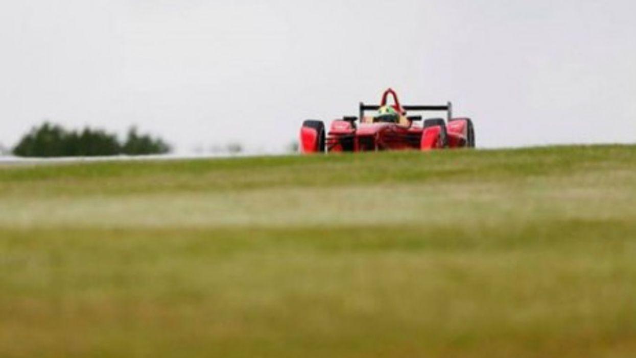Donington Park test runs on Aug. 18
