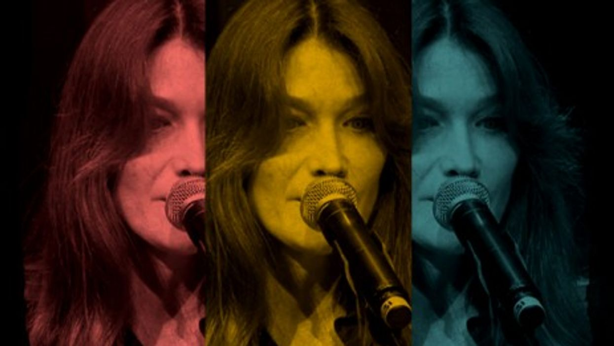 Don't forget the what? - Carla Bruni