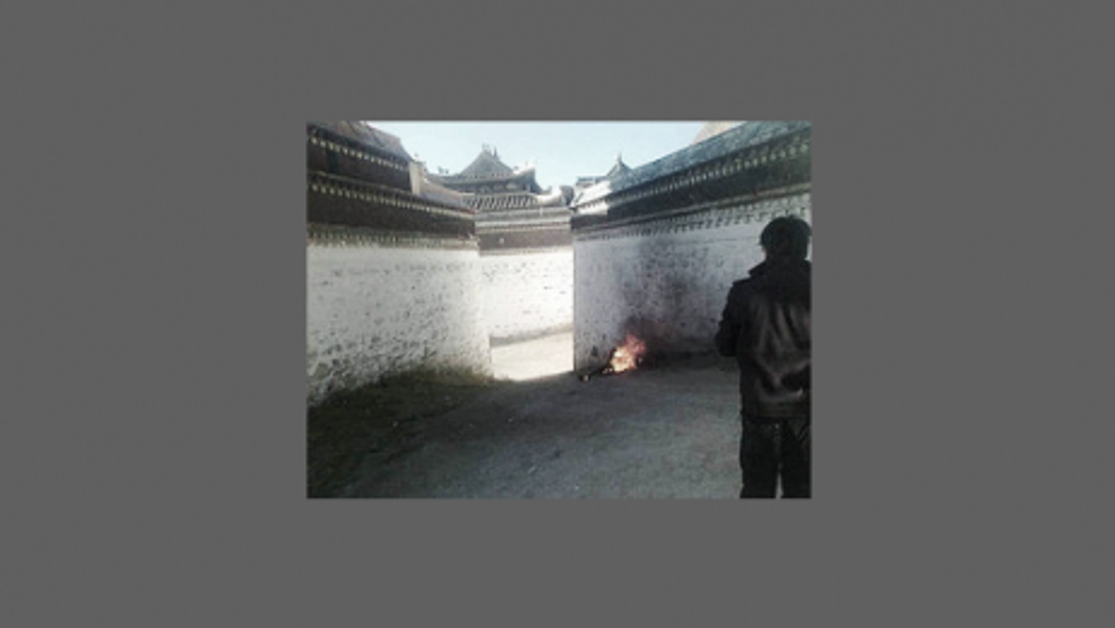 Dorjee Rinchen, 58, Oct. 23 self-immolation in Labrang to protest of China's occupation of Tibet