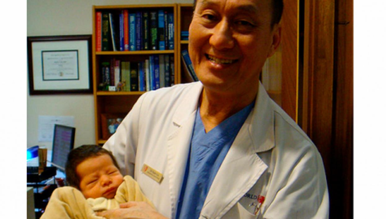 Dr Lu, in Shanghai