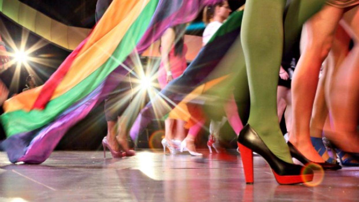 Drag Walk gala in Berlin