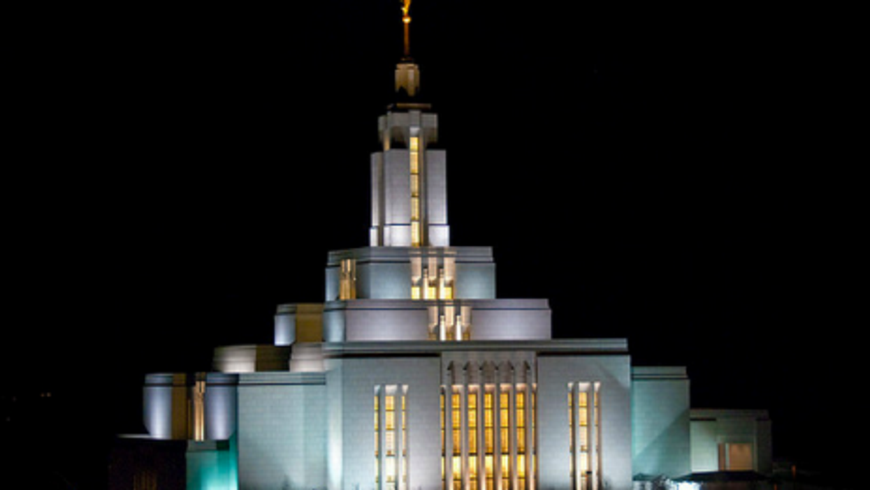 Draper temple in Salt Lake (Jeff McGrath)