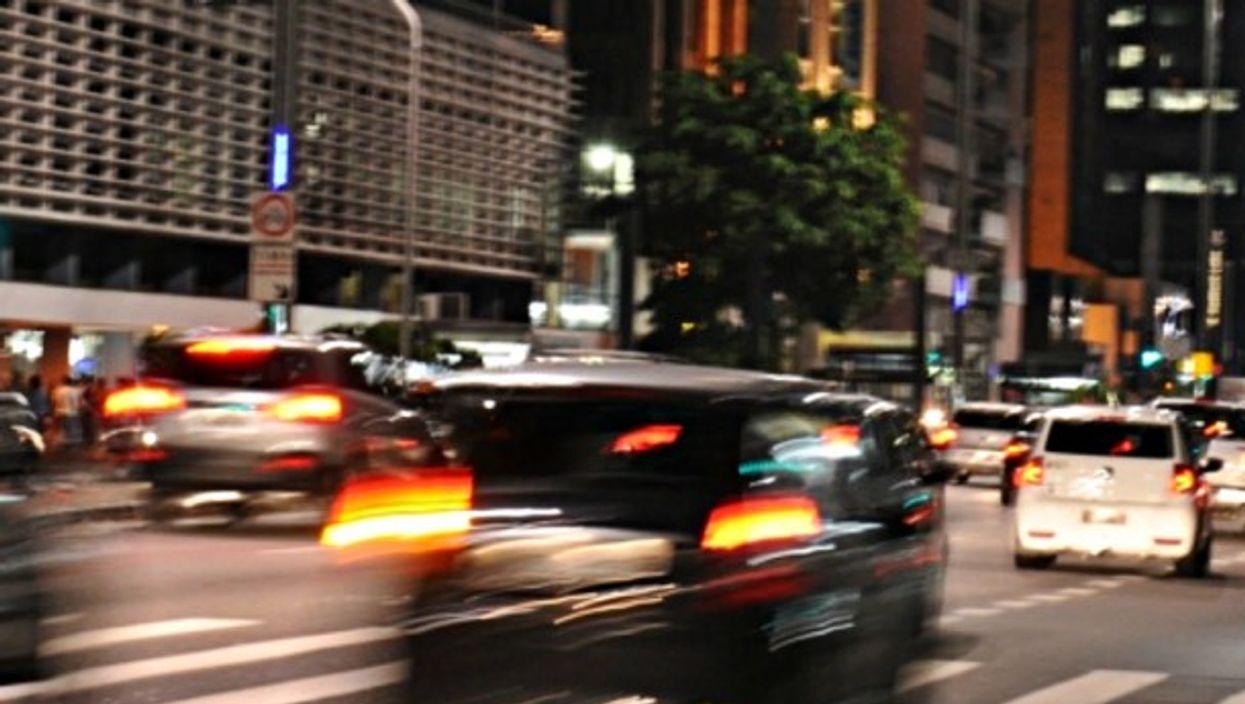 Driving in São Paulo