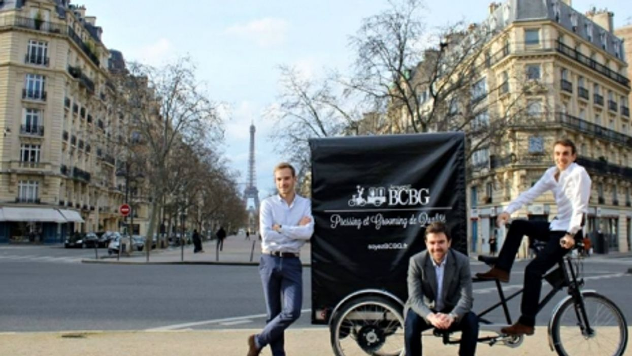 Dry cleaning 2.0: soyezBCBG founders in Paris