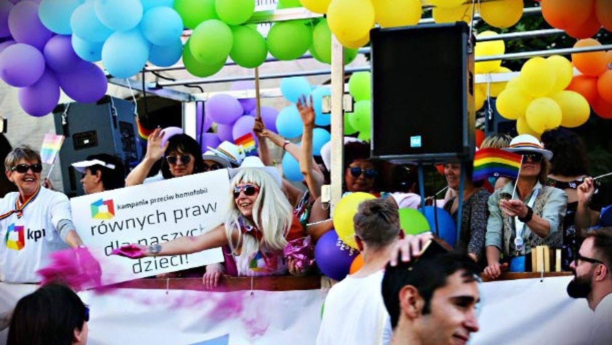 During June's LGBT Equality rally in Warsaw