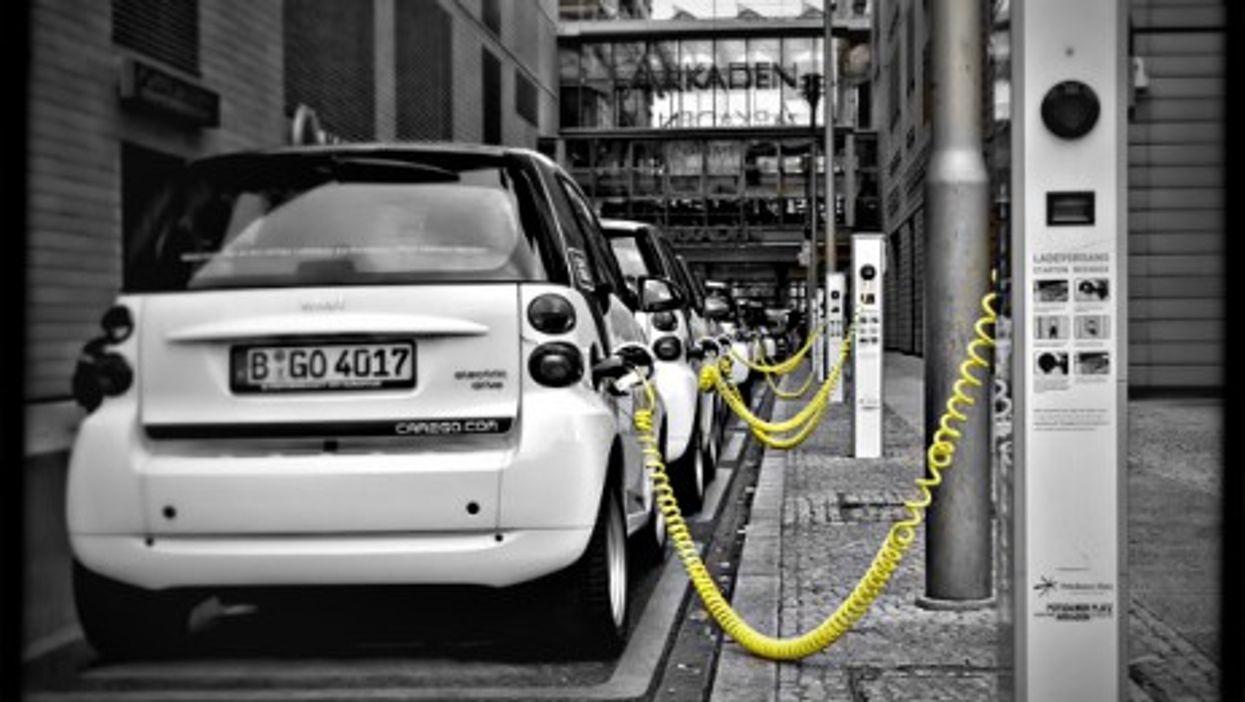 E-car charging in Berlin