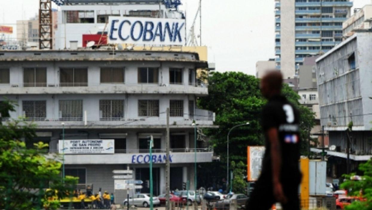 Ecobank in Abidjan, one of Africa's many entrepreneurial successes