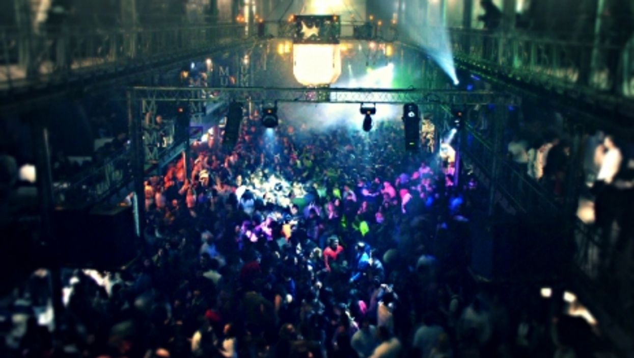 Ecstatic crowd at a Buenos Aires club?