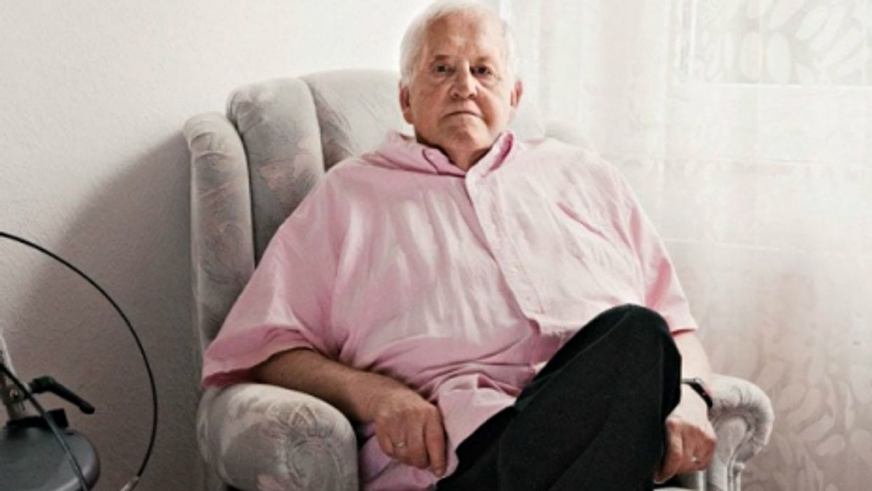 Egon in his Kiel retirement home