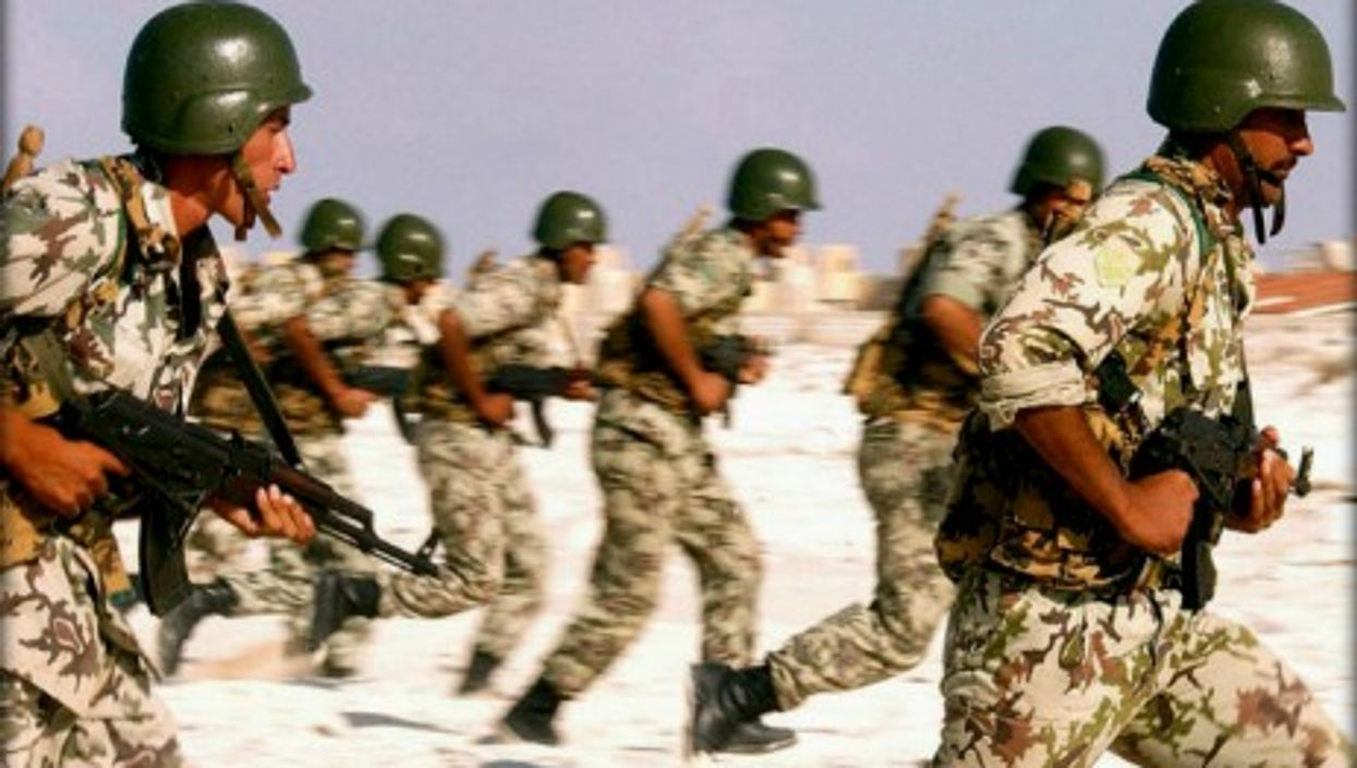 Egyptian Army soldiers