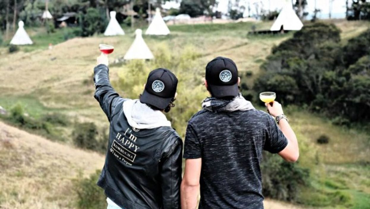El Monte Teepee Hostel was designed to give you a taste of nature, without the hardships.