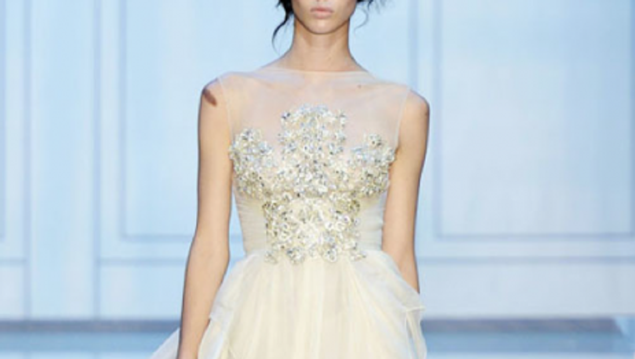 Elie Saab Fall 2011 Couture (Burrs and Berries)