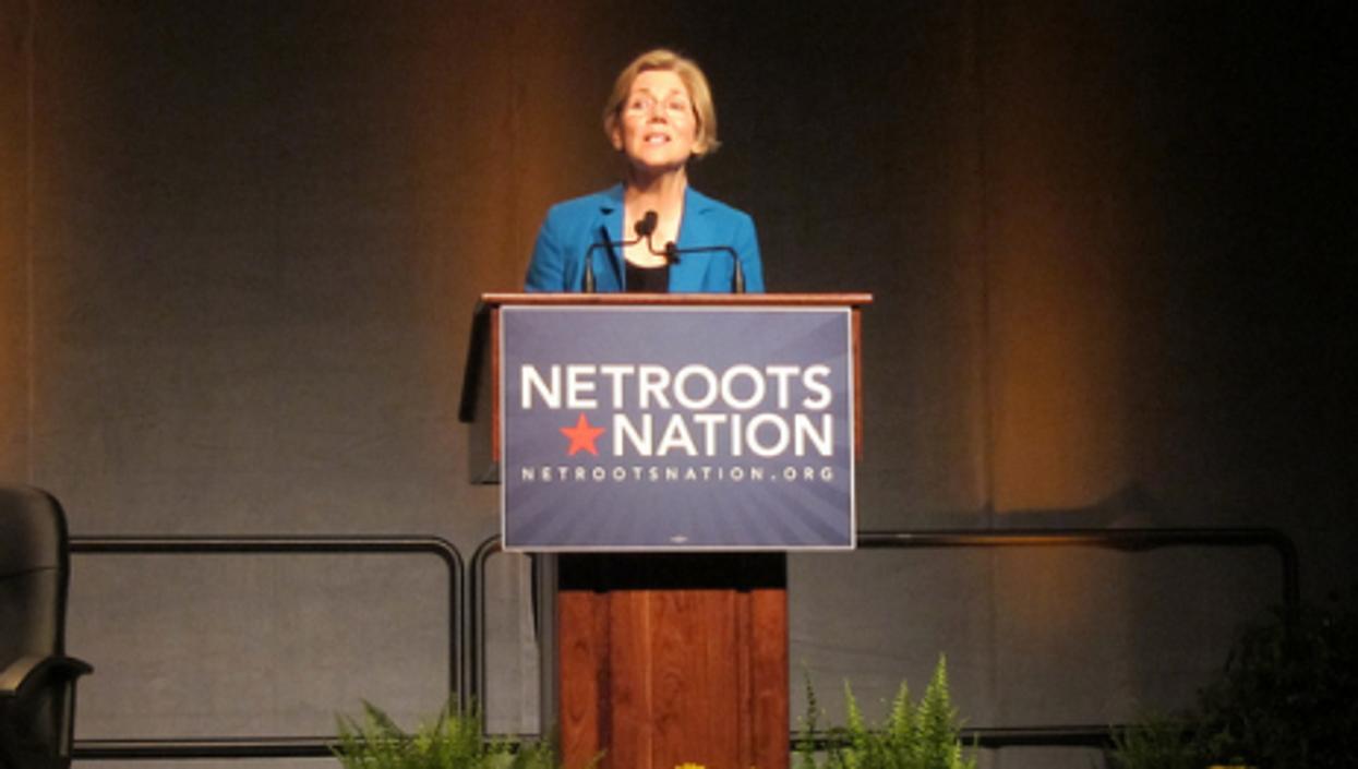 Elizabeth Warren is vying for a U.S. Senate seat in Massachusetts