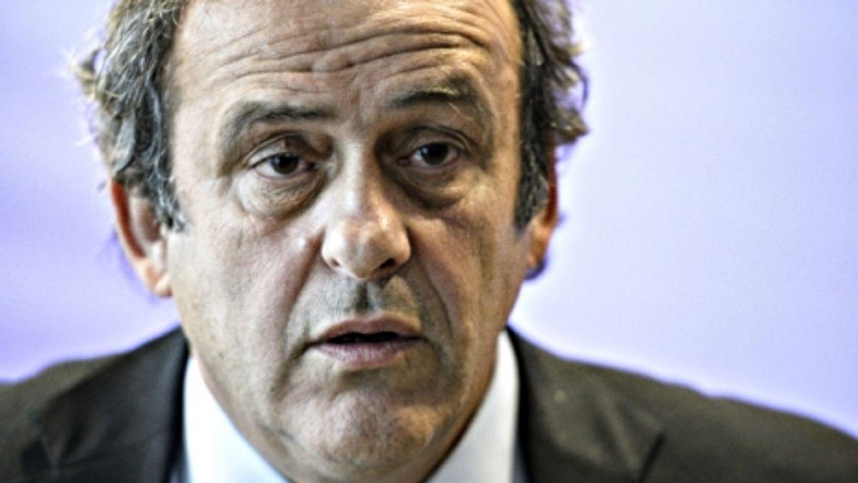 Embattled Platini