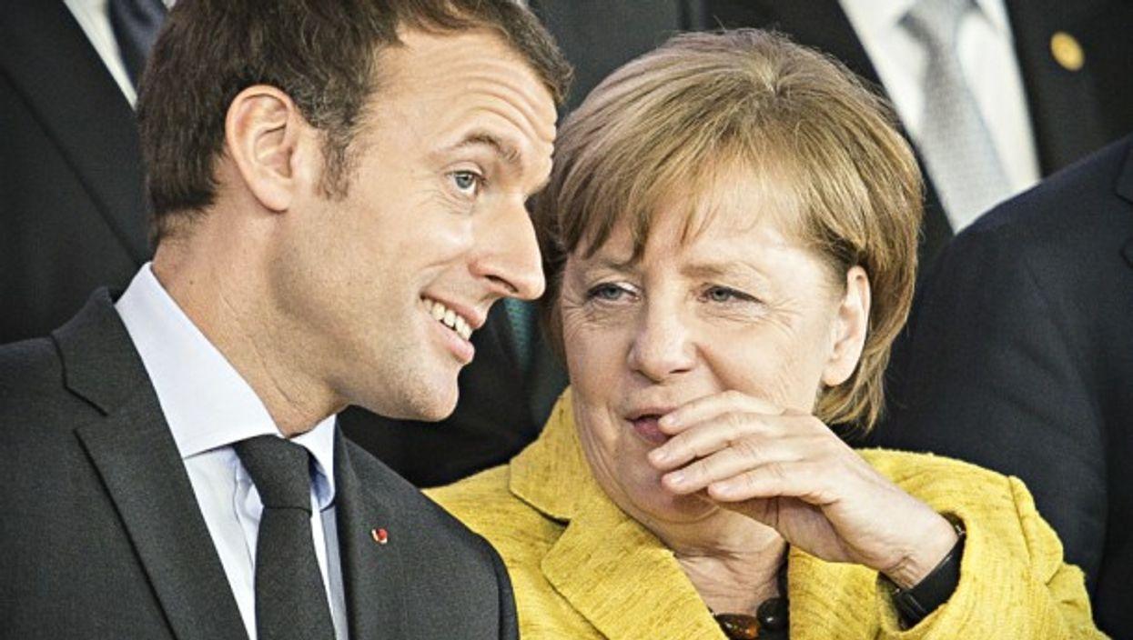 Emmanuel Macron and Angela Merkel, Europe's power couple