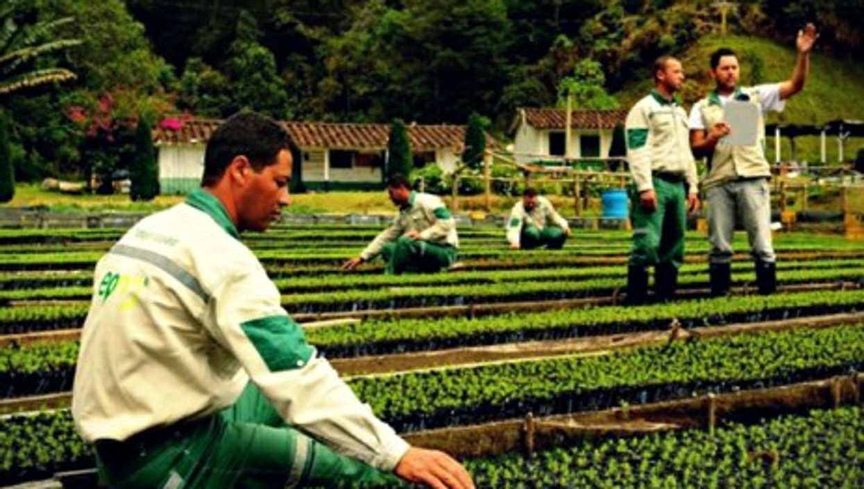 EPM workers in Colombia