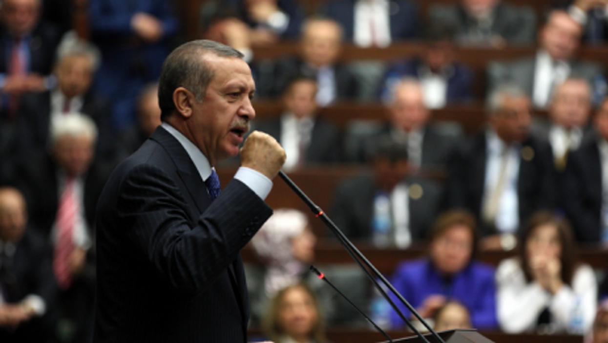 Erdogan speaks