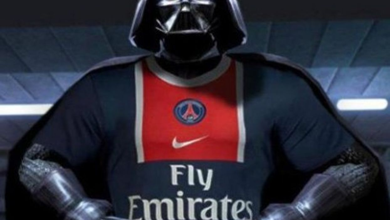 Even Darth Vader supports the Qatari-owned PSG