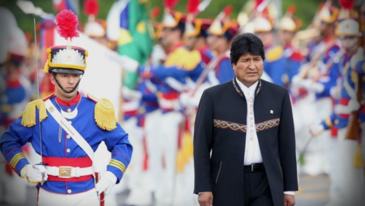 Evo Morales wants a fourth term. And a fifth and sixth?
