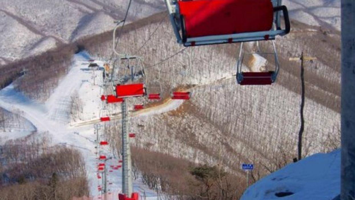 Exclusive glimpse at North Korea's Masik Ryong ski resort