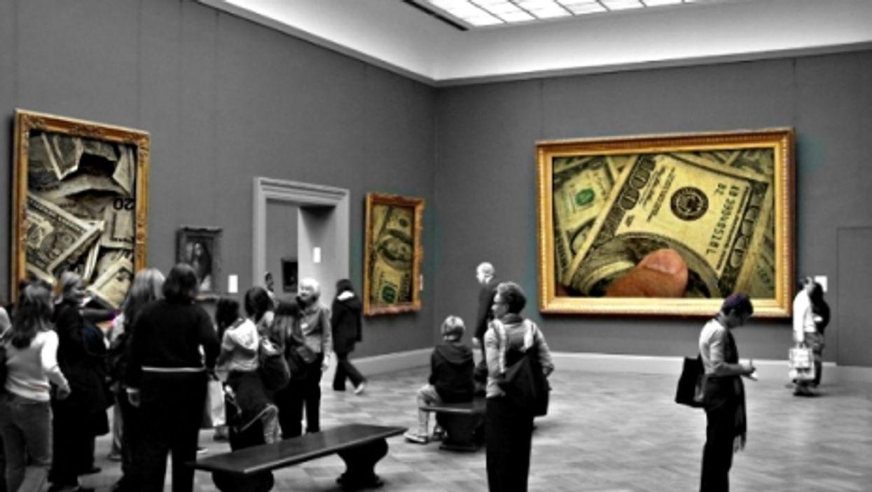 Expensive exhibition
