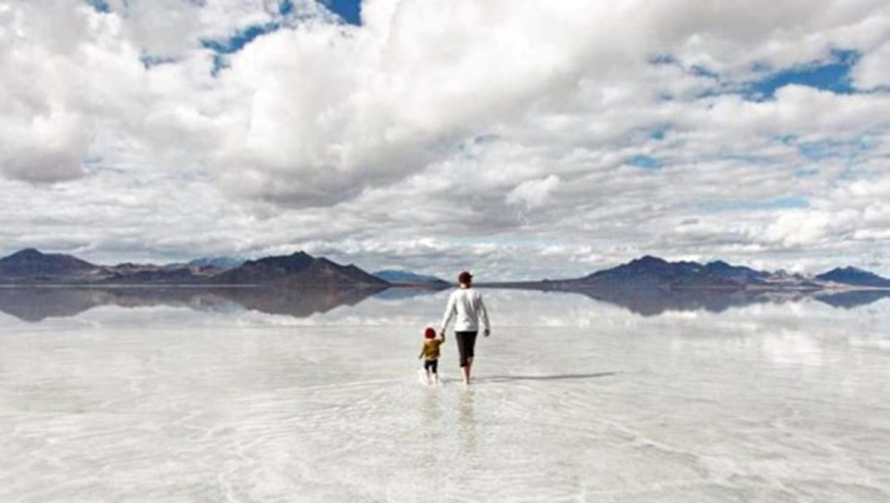 Exploring the already shallow Great Salt Lake
