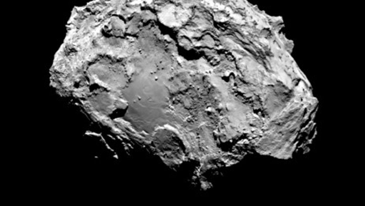 Eyes on the prize: comet 67P/Churyumov-Gerasimenko