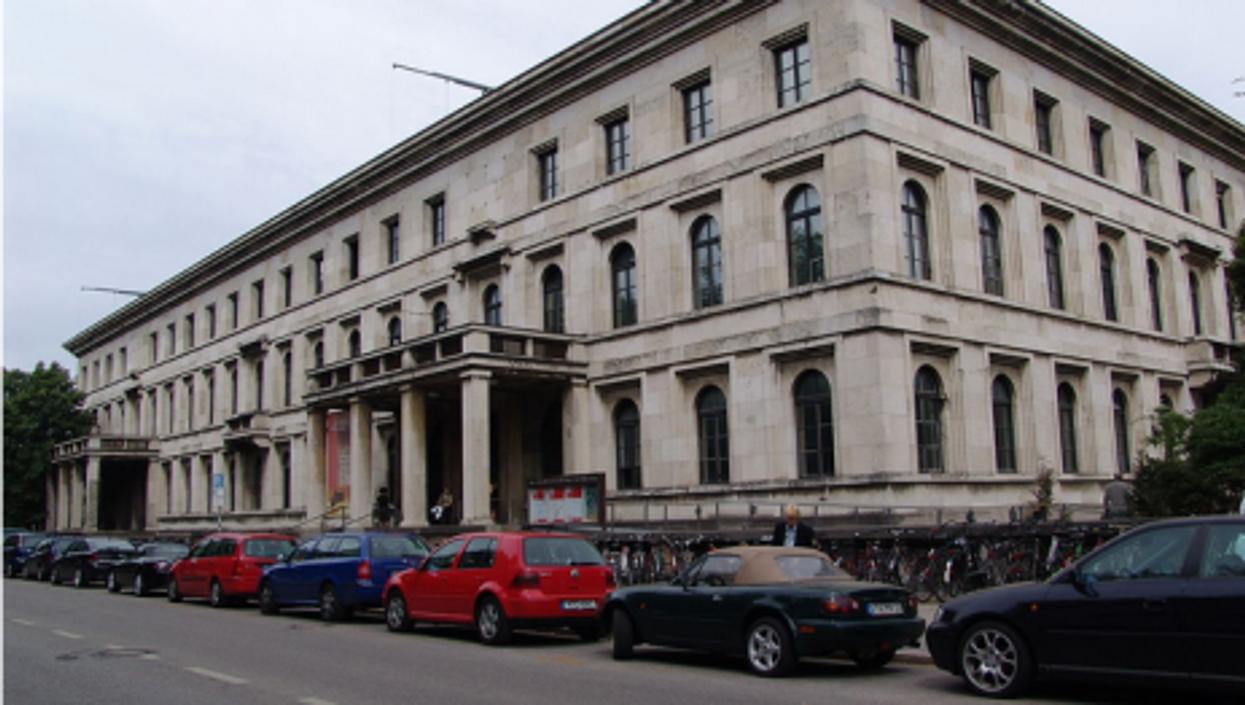 Führerbau building has been restored